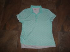 Grand Slam Women top Stretch Collared Golf Xl snap looks like 2 shirts AirFlow