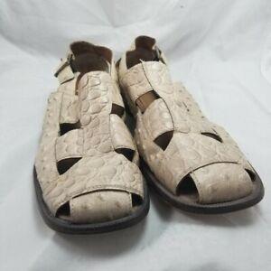 Stacy Adams Men's Fisherman Sandals Closed Toe Size 11.5M 23296