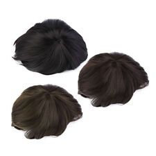 Korean Men's Handsome Short Straight Hair Full Wigs Cosplay Party 3 Colors J4
