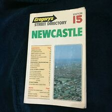 GREGORYS 1984 NEWCASTLE STREET DIRECTORY. EDITION 15.