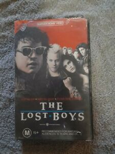 The Lost Boys VHS Tape Horror Comedy video
