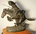 Remington Cheyenne Bronze Sculpture