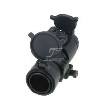 JJ Airsoft M2 Red Dot with Cantilever Mount & Killflash / Kill Flash (Black/Tan)