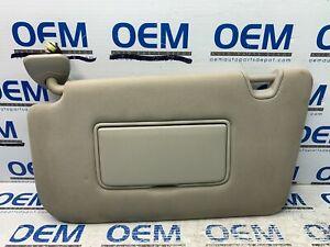 14 15 16 17 NISSAN ROGUE driver/left side sun visor sunvisor shade beige OEM