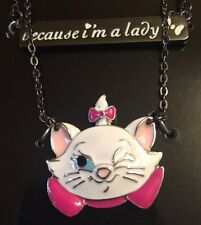 Disney The Aristocats Because I'm A Lady 2 Pack Necklace Set New With Tags!