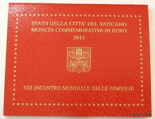 "Vatikan, 2-Euro Gedenkmünze 2015 ""8. Weltfamilientreffen"""