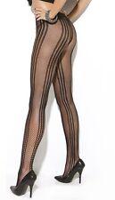 Vertical Striped Fishnet Tights, Elegant Moments,Pantyhose, Fashion, Pattern,