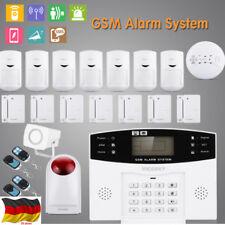 """Funk GSM SMS RFID Haus Sicherheit Alarmanlage Alarmsystem Bewegungsmelder 2.5"""""""