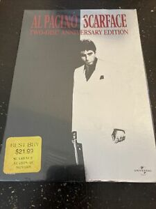 NEW - Scarface DVD Al Pacino two-disc anniversary edition FULL SCREEN A4