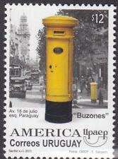 Postboxes: 2011 Uruguay boîtes aux lettres américaine, édition 2 sg3272 neuf sans charnière