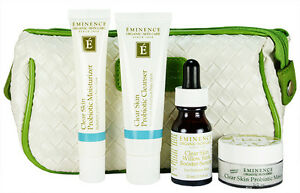 Eminence Clear Skin Starter Set Problem Skin 4 Products Fresh New