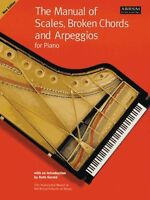 The Manual of Scales & Arpeggios LEARN EASY LESSON Piano Music ABRSM Book TUTOR