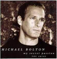 MICHAEL BOLTON My Secret Passion - The Arias CD Japan Press PROMO copy w/Insert