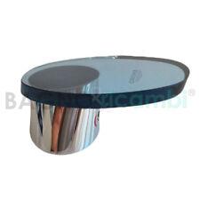 Leva apertura acqua Lavabo cromo- vetro azzurrato 46377IM0 per Taron Grohe