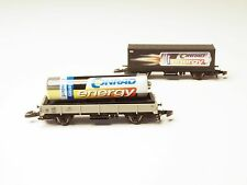 "98058 Marklin Z-scale Flat and Container Car Set, ""Conrad Energy""battery promo"