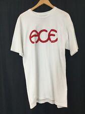 Ace Trucks Rings Logo Skateboard T Shirt White Large