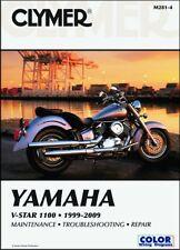 1999-2009 Yamaha VStar V-Star 1100 CLYMER REPAIR MANUAL M281