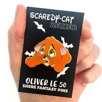 Oliver fantasy disney pin - Oliver And Company - Disney Cats -Enamel Trading Pin