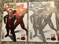 DEADPOOL SECRET WARS #1 GREG HORN STAN LEE COLLECTIBLES EXCLUSIVE VARIANT NM