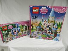 Lego Disney 41055 Cinderella's Romantic Castle & 41053 Dream Carriage NEW SEALED