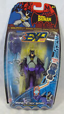 The Batman EXP Grapnel Attack Batman 5 inch action figure Mattel NIP S96-10