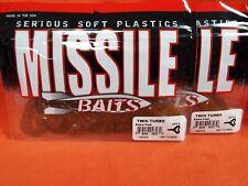 MISSILE BAITS TWIN TURBO (8PK) BAMER CRAW MBTT33-BMC (2PK'S)