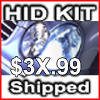Xexon HID Conversion Kit H1 H3 H4 H7 H11 9004 9006 9007