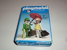 Playmobil Klicky 3165 Exklusiv Set Pärchen Reisende 1900 70er 80er Jahre OVP