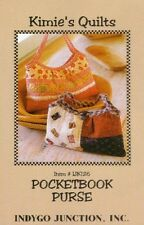 Pocketbook Purse - Pattern by Indygo Junction - Pieced and Quilted Purse