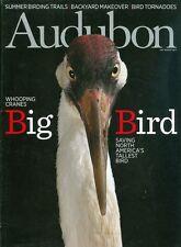 2013 Audubon Magazine: Whooping Cranes/Summer Birding Trails/Backyard Makeover