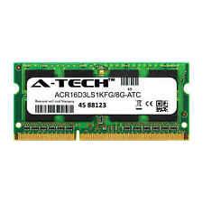 8GB DDR3 PC3-12800 SODIMM (Kingston ACR16D3LS1KFG/8G Equivalent) Memory RAM
