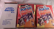Baseball Cards Mlb Lot of 3 Boxes New & Mint Donruss Magic Motion