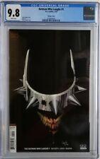 🔥🔥 BATMAN WHO LAUGHS #1 CGC 9.8 1ST SOLO SERIES CAPULLO VARIANT 2019 DC COMICS