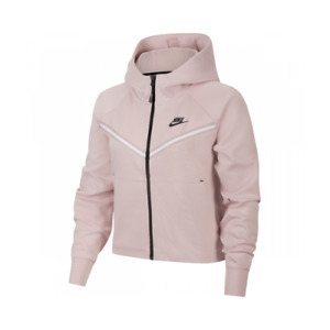 Nike Sportswear Tech Fleece Full-Zip Hoodie Women's Champagne Casual Activewear