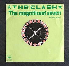 """The Clash Magnificent Seven Rare Néerlandais 7"""" Image Manche Punk Sex Pistols"""