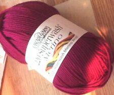 Cascade Yarns 100% Super Wash Merino Wool 8 Balls Color 22 Raspberry