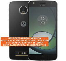 MOTOROLA MOTO Z PLAY DROID XT1635-01 3gb 32gb Octa-Core 16mp Fingerprint Android