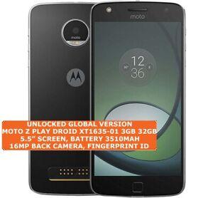 Motorola Moto Z Play Droid XT1635-01 3gb 32gb Octa-Core 16mp Digitales Android