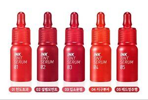 PERIPERA Ink Tint Serum Moist Glossy Lip Satin K-beauty