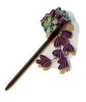 Kanzashi Hair Stick with Kanzashi Flower Tassle