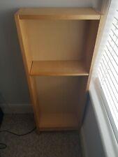 Wooden Ikea DVD Shelving Unit