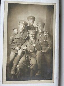 Royal Dublin Fusiliers Soldier Postcard WW1