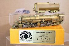 SUNSET MODELS BALTIMORE & OHIO B&O 2-6-6-4 KB-1 SEABOARD AIR LINE LOCOMOTIVE np
