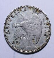 1907 Chile 20 Centavos - Lot 299