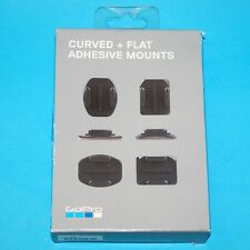 GENUINE BRAND GoPro Flat & Curved mounts Suits HERO4 HERO3+ HD2 GO PRO AACFT-001