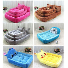 New Puppy Dog Pet Sofa Bed Kennel Pad House Warm Soft Mat Cushion Couch 6cOLORS