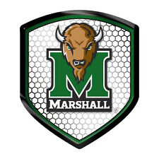 Marshall Thundering Herd SHIELD Reflector Emblem Decal Auto Home University of