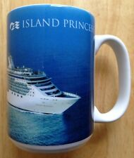 MS ISLAND PRINCESS CRUISES CRUISE SHIP COFFEE MUG, NEW