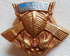 Insigne boutonnière sans attache ! CFM HOURTIN CENTRE FORMATION MARITIME Marine