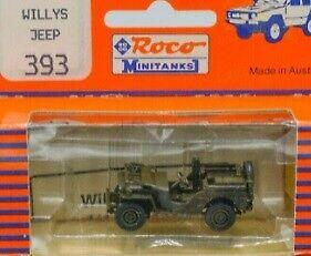 Roco 393 1:87 Minitanks Willy's Jeep